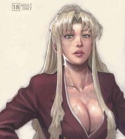【BLACK LAGOON】巨乳バラライカに呼び出されたロックが私を抱けと脅しの命令をされてセックスwwwwwロックもレヴィとまた違う熟れた身体に興奮して膣内射精を命じられて大量中出ししてますwwwww【エロ漫画・同人誌】